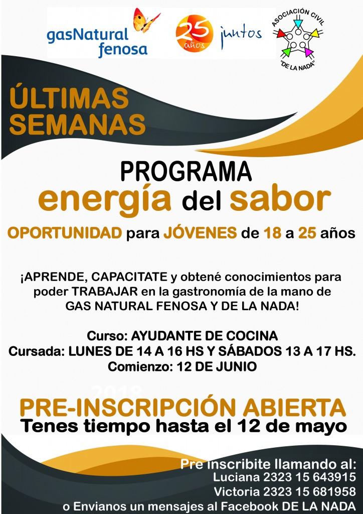 ENERGÍA DEL SABOR 2017